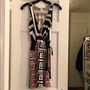 Diane Von Furstenberg geometric dress